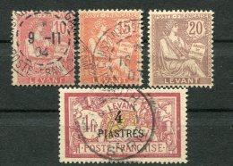 8241  LEVANT  N°14/6,21 ° /(*)   Typographiés   1902-20    TB - Usados