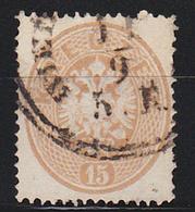 STAMPS-AUSTRIA-1863-(GEZ K-14)-USED-SEE-SCAN - Oblitérés
