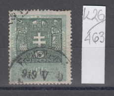 26K463 / 1914 - 6 KORONA ,  Revenue Fiscaux Steuermarken Fiscal , Hungary Ungarn Hongrie Ungheria - Steuermarken