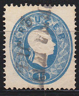 STAMPS-AUSTRIA-1860-(GEZ-K-14)-USED-SEE-SCAN - Oblitérés