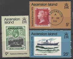 ASC 1976 DEFINITIVE, ASCENSION , 1 X 3v, MNH - Ascensione