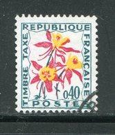 FRANCE- Taxe Y&T N°100- Oblitéré - 1960-.... Oblitérés