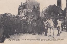 Spahis Indigènes à Compiègne Après La Bataille De Vic-sur-Seine - Guerre 1914-18
