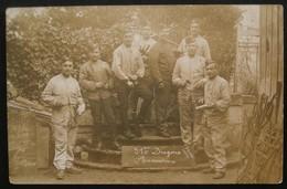 Photo-CPA Noir & Blanc - Guerre De 14/18 - 31eme Dragons D'Armuriers - Niort  Le 26/11/1914 - Guerre, Militaire