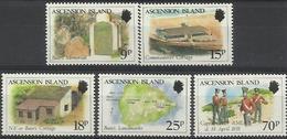 ASC 1988 DEFINITIVE, ASCENSION , 1 X 5v, MNH - Ascensione