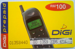 RM 100 Digi Prepaid - Malaysia