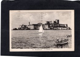 "78673    Francia,  Marseille,  Le Chateau D""If,  VG  1938 - Château D'If, Frioul, Iles ..."