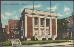 American Legion Building, Scranton, Pennsylvania, C.1920s - Ramsay Mebane Postcard - Other