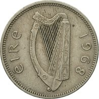 Monnaie, IRELAND REPUBLIC, Shilling, 1968, TTB, Copper-nickel, KM:14A - Irlande