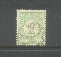 Kleinrond Veenendaal Op Nvph 31 - 1852-1890 (Guillaume III)