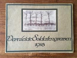 Vernielde Soldatengraven 1918 - Guerre 1914-18