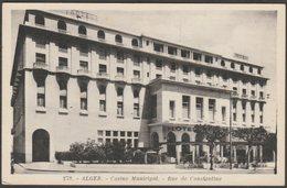 Casino Municipal, Rue De Constantine, Alger, C.1940s - Robert Dianoux Fils CPSM - Algiers