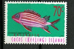 Cocos Islands 1998 70c Fish Issue #327  MNH - Cocos (Keeling) Islands