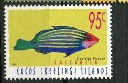 Cocos Islands 1998 95c Fish Issue #328  MNH - Cocos (Keeling) Islands