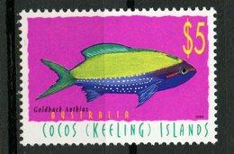 Cocos Islands 1998 $5.00 Fish Issue #329  MNH - Cocos (Keeling) Islands