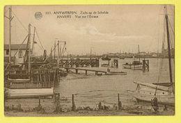 * Antwerpen - Anvers - Antwerp * (Albert, Nr 103) Zicht Op De Schelde, Vue Sur L'Escaut, Bateau, Boat, Quai, Unique - Antwerpen