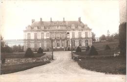 Dépt 80 - DAVENESCOURT - ÉPREUVE De CARTE POSTALE (photo R. LELONG) + PLAQUE De VERRE D'origine - Château - Édit.Baillet - France