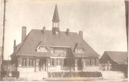 Dépt 80 - DAVENESCOURT - ÉPREUVE De CARTE POSTALE (photo R. LELONG) + PLAQUE De VERRE D'origine - Mairie - Édit. Baillet - France