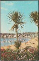 St Ives Harbour, Cornwall, 1969 - Jarrold Postcard - St.Ives