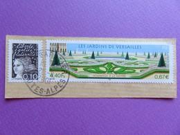 Timbre France YT 3389 - Les Jardins De Versailles- Hommage Au Jardinier Le Nôtre - 2001 - Oblitérés