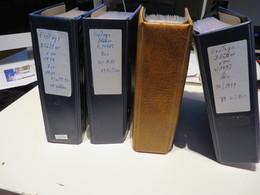 DEUTSCHLAND  /  BUND  Posten  E T B  Von  1974 Bis 1988  Und  1993 Bis 1999  In  4  RINGBINDER - Stamps