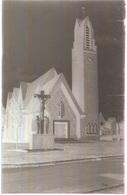 Dépt 80 - BOSQUEL - PLAQUE De VERRE (négatif Photo Noir & Blanc, Cliché R. Lelong) - L'Église - France