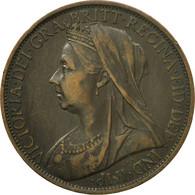 Monnaie, Grande-Bretagne, Victoria, Penny, 1900, SUP, Bronze, KM:790 - 1816-1901 : Frappes XIX° S.