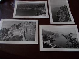 B695  4 Foto Riviera Amalfitana Cm15x10 - Non Classificati