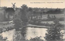 Cpa 35 Chanteloup , L'étang De Venon Et Le Moulin à Vent , écrite 1932 - Autres Communes