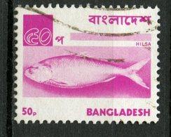 Bangladesh 1973 50p Fish Issue #48 - Bangladesh