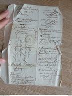 Lettre 1844 De Marvejols à St Léger De Peyre Au VALADOU 48 RARE!!! - Marcophilie (Lettres)