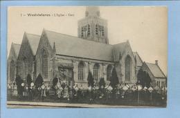 Westvleteren (Vleteren - Flandre Occidentale) L'église Kerk 2 Scans - Vleteren