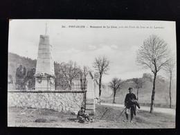 CPA D25 Pontarlier, Monument De La Cluse - Pontarlier
