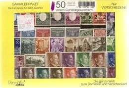 Pologne 1940/43 - Occupation Allemande - Gouvernement Général - Petit Lot De 50°  Différents - Timbres