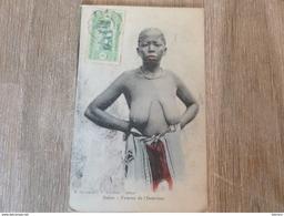 CPA Dakar Sénégal Femme De L'intérieur Seins Nus - Sénégal