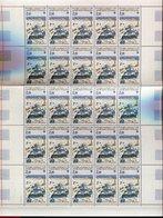 RC 9758 TAAF N° 112 BASE DE PORT MARTIN FEUILLE COMPLETE AVEC COIN DATÉ COTE 55€ NEUF ** TB - Neufs