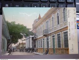 CPA Costa Rica San José, Calle Central Rue Centrale 1909 - Costa Rica