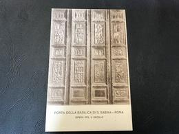 Porta Della Basilica Di S. Sabina - ROMA Opera Del V Secolo - 1926 - Eglises
