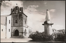 Postal Portugal - Faro - Sé E Monumento A D. Francisco Gomes - Algarve (Ed. Da Fotografia Arnaldo) - CPA - Postcard - Faro