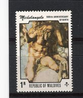 MALDIVES - Y&T N° 570** - Michel-Ange - Maldiven (1965-...)