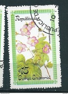 N° 126 Fleur Rubus Odoratus Timbre Guinée équatoriale (1979) Oblitéré - Guinée Equatoriale