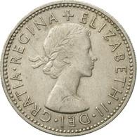 Monnaie, Grande-Bretagne, Elizabeth II, Shilling, 1963, TTB, Copper-nickel - 1902-1971 : Monnaies Post-Victoriennes
