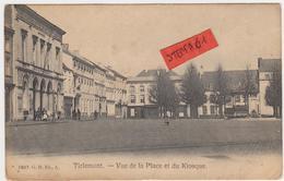 Tienen, Thienen, Tirlemont, Grote Markt Met Kiosk,  Zeldzaam! - Tienen