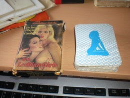 Porno Cards  Color Climax De Luxe Playing Cards Lesbian Girls Set 52+2 - 54 Cards