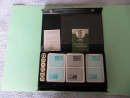 JEU DE CARTES ALLEMAND F.X. SCHMID -ROMME,CANASTA,SAMBA, Coffret Publicitaire WE RA WERALIT PROFILOR - RARE - VOIR SCANS - Playing Cards (classic)