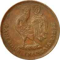 Monnaie, Cameroun, Franc, 1943, Pretoria, TTB, Bronze, KM:5, Lecompte:16 - Cameroon