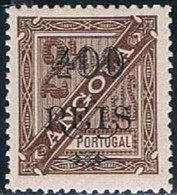 Angola, 1902, # 74 Dent. 12 1/2, MH - Angola