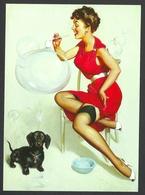 Gil Elvgren, Neat Trick, 1958, Pin-Up - Pin-Ups