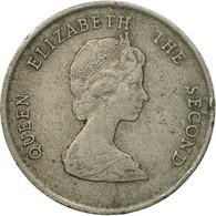 Monnaie, Etats Des Caraibes Orientales, Elizabeth II, 25 Cents, 1987, TB - Caraïbes Orientales (Etats Des)