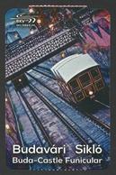 Hungary, Budapest, Funicular Ticket, Used,. - Europe